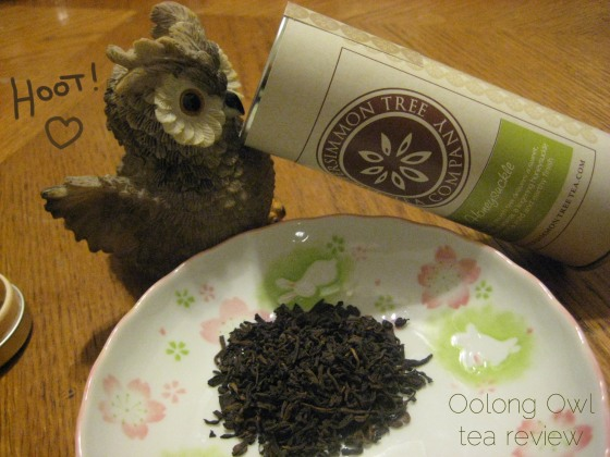 honeysuckle - The Persimmon Tree - Oolong Owl Tea Review