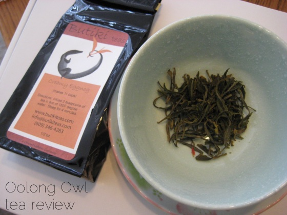 Creamy Eggnog - Butiki Teas - Oolong Owl Tea review