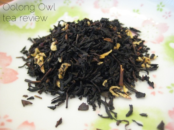 pineapple upside down cake - della terra - oolong owl tea review