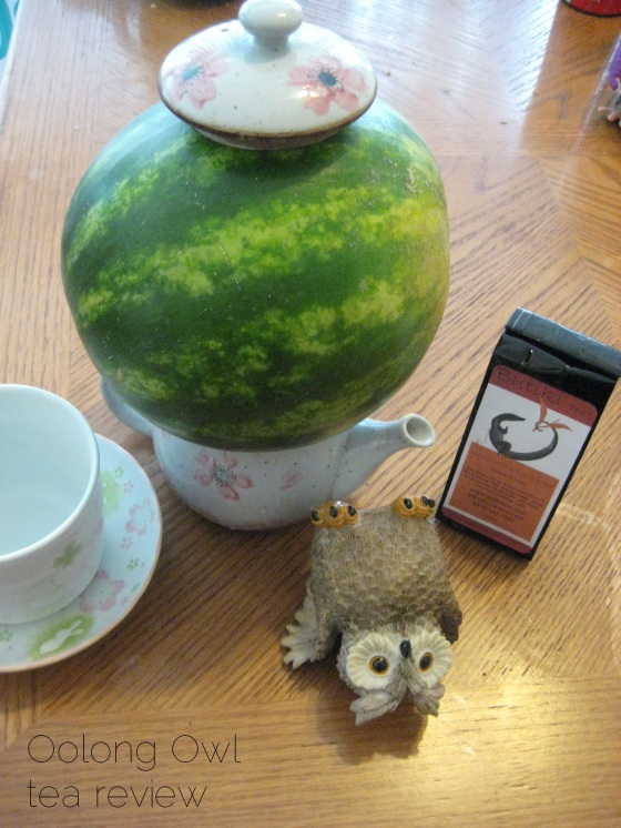 watermelon xylophone from butiki teas - Oolong Owl tea review