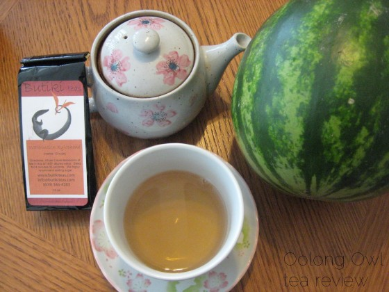 watermelon xylophone from butiki teas - Oolong Owl tea review
