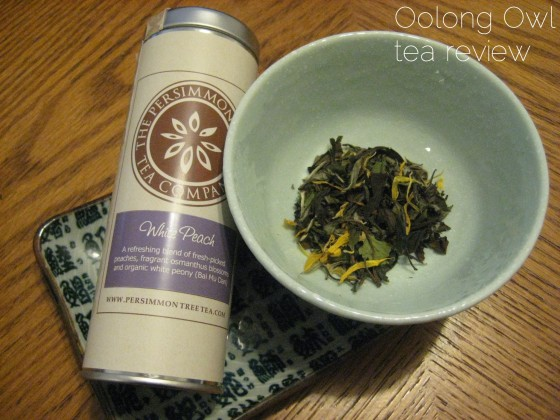 White Peach - The Persimmon Tree - Oolong Owl Tea Review