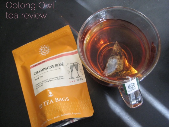Champange Rose from Lupicia - Oolong Owl tea review (1)