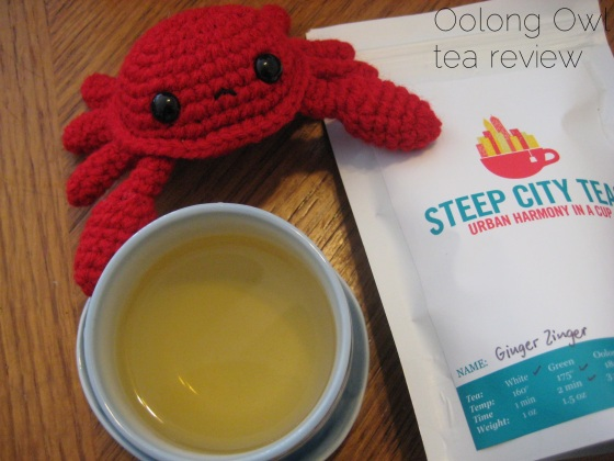 Ginger Zinger from Steep City Tea - Oolong Owl Tea Review (5)