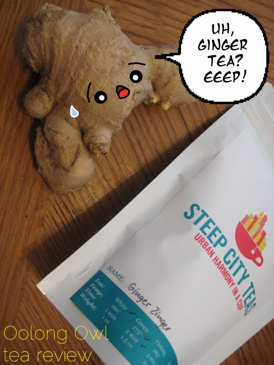 Ginger Zinger from Steep City Tea - Oolong Owl Tea Review (7)