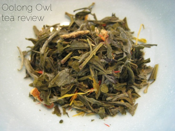 Ginger Zinger from Steep City Tea - Oolong Owl Tea Review (8)