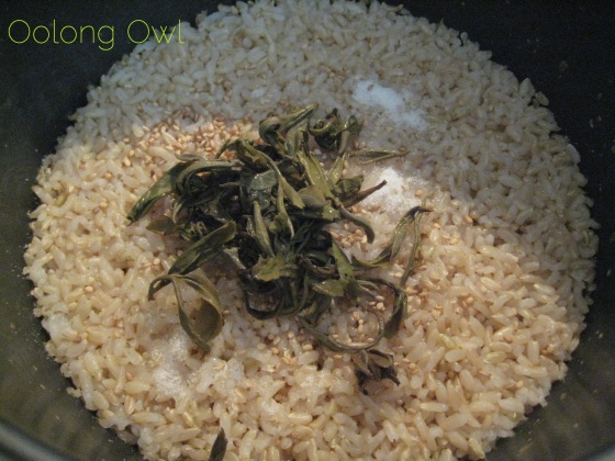Green Tea Rice Recipe - Oolong Owl (4)