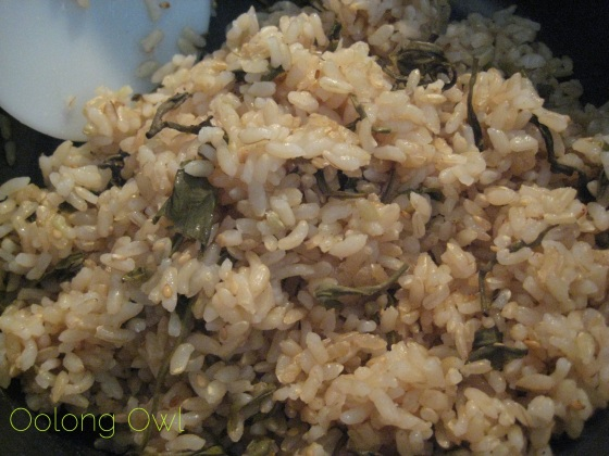 Green Tea Rice Recipe - Oolong Owl (5)