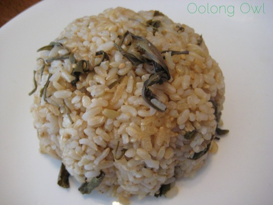 Green Tea Rice Recipe - Oolong Owl (8)
