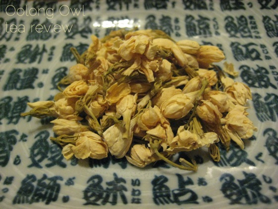 Jasmine Blossom from Natures Tea Leaf - Oolong Owl tea review (1)
