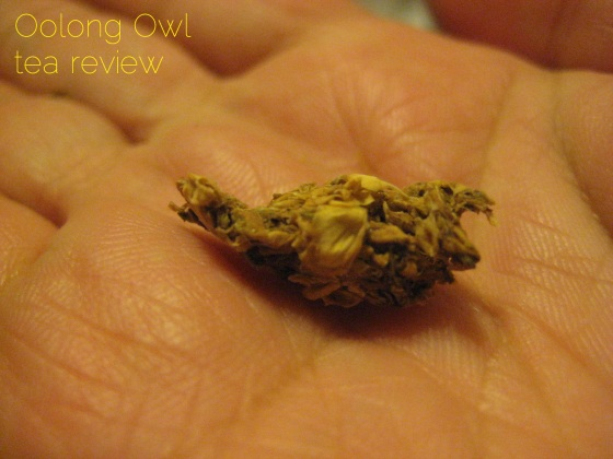Jasmine Blossom from Natures Tea Leaf - Oolong Owl tea review (4)