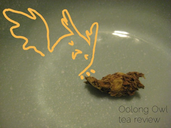 Jasmine Blossom from Natures Tea Leaf - Oolong Owl tea review