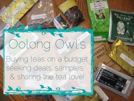 Oolong Owl's Buying teas on a budget seeking deals and sharing the tea love