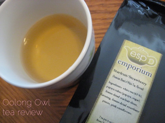 Starfruit Strawberry from ESP Emporium - Oolong Owl Tea Review (6)