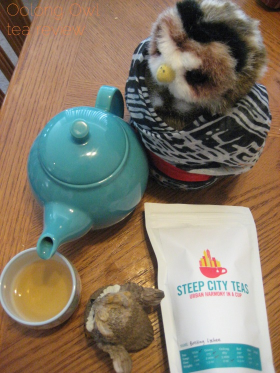 Bursting Lychee from Steep City Teas - Oolong Owl tea review (8)