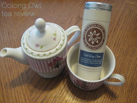 Earl Grey Creme from The Persimmon Tree - Oolong Owl Tea Review (2)