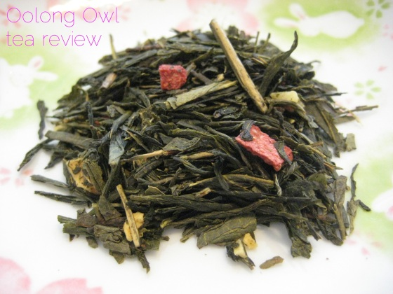 Strawberries and Cream from Della Terra Teas - Oolong Owl Tea Review (1)