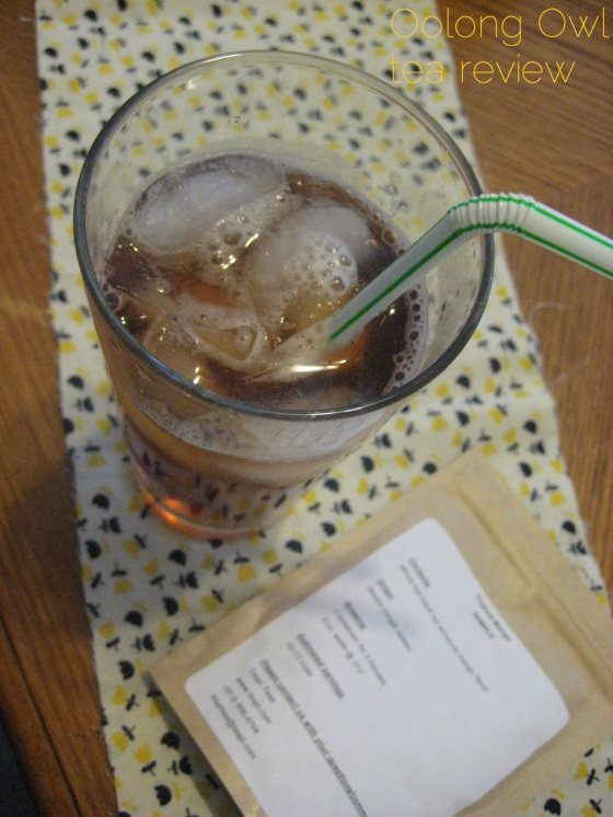 Tropical Mango from TeaJo - Oolong Owl tea review (6)