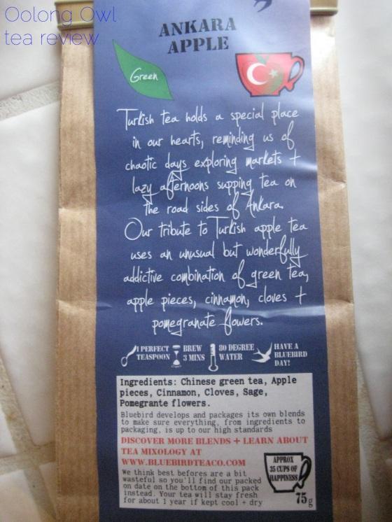 Ankara Apple from Bluebird Tea Co - Oolong Owl tea review (2)