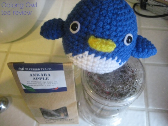 Ankara Apple from Bluebird Tea Co - Oolong Owl tea review (5)