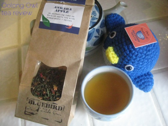 Ankara Apple from Bluebird Tea Co - Oolong Owl tea review (7)