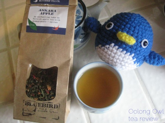 Ankara Apple from Bluebird Tea Co - Oolong Owl tea review (8)