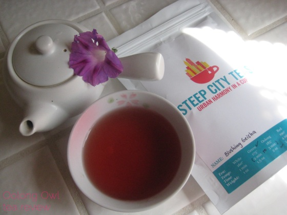 Blushing Geisha from Steep City Teas - Oolong Owl Tea Review (12)