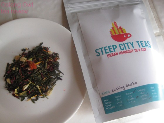 Blushing Geisha from Steep City Teas - Oolong Owl Tea Review (3)