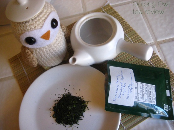 Gyokuro Standard Kurihara Tea via Yunomi us - Oolong Owl Tea Review (4)
