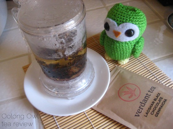 Laoshan Black Chocolate Genmaicha from Verdant Tea - Oolong Owl Tea Review (4)