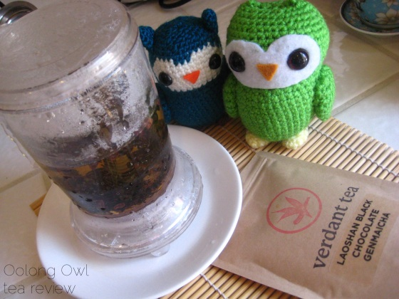 Laoshan Black Chocolate Genmaicha from Verdant Tea - Oolong Owl Tea Review (5)