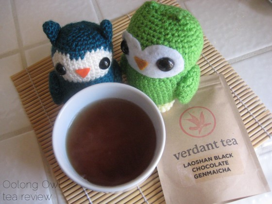Laoshan Black Chocolate Genmaicha from Verdant Tea - Oolong Owl Tea Review (6)