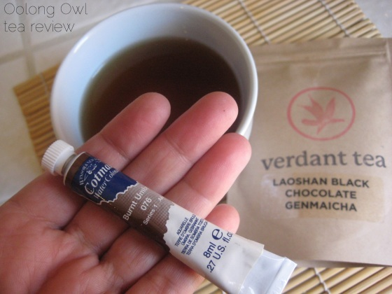 Laoshan Black Chocolate Genmaicha from Verdant Tea - Oolong Owl Tea Review (8)
