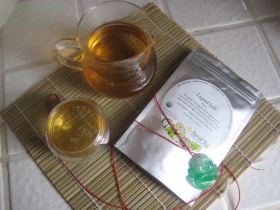 Liquid Jade from Art of Tea - Oolong Owl tea review (2)