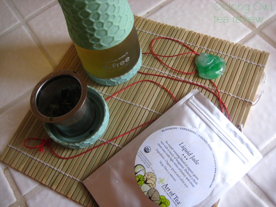 Liquid Jade from Art of Tea - Oolong Owl tea review (4)