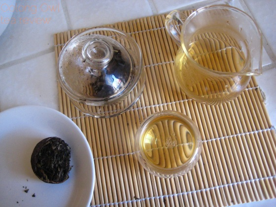 Mandarin Pu-er white tea from New Mexico Tea Co - Oolong Owl Tea Review (11)
