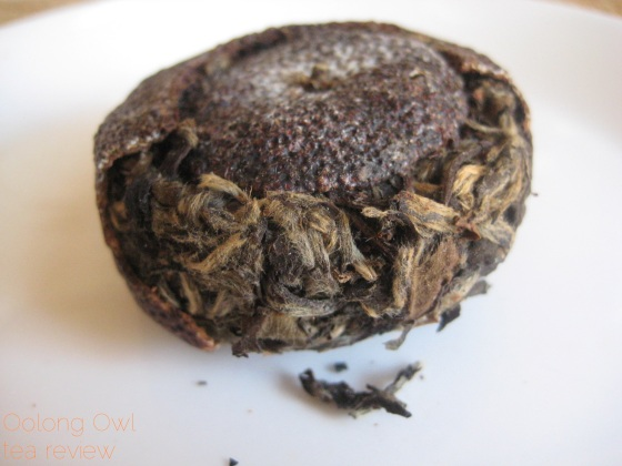 Mandarin Pu-er white tea from New Mexico Tea Co - Oolong Owl Tea Review (4)