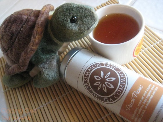 Peach Picnic from The Persimmon Tree - Oolong Owl Tea Review (4)