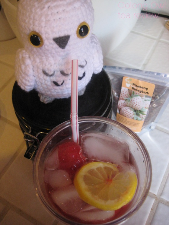 Pineberry Honeybush from 52 Teas - Oolong Owl Tea Review (5)