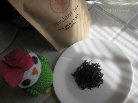 Shui Jin Gui Wuyi Oolong from Verdant Tea - Oolong Owl tea review (5)