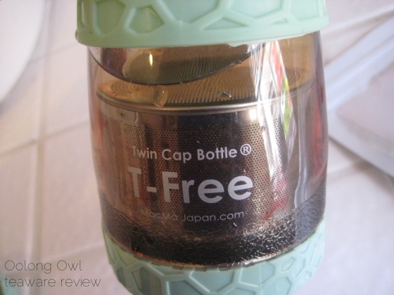 T Free hourglass travel tea tumbler - from Zen Tea Life - Oolong Owl review (15)
