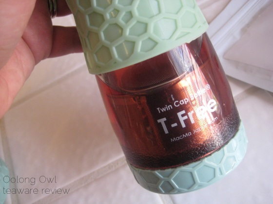 T Free hourglass travel tea tumbler - from Zen Tea Life - Oolong Owl review (16)