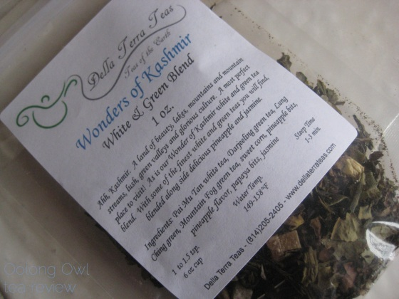 Wonders of Kashmir from Della Terra Teas - Oolong Owl tea review (1)