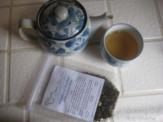 Wonders of Kashmir from Della Terra Teas - Oolong Owl tea review (4)