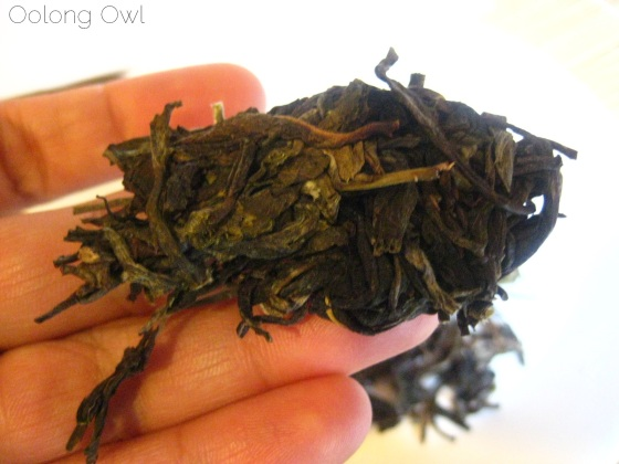 2013 Yiwu Spring Sheng Pu er from Misty Peak Teas - Oolong Owl Tea Review (2)