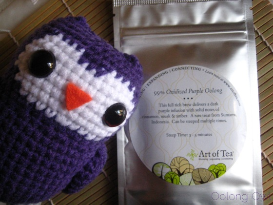 99 Oxidized Purple Oolong from Art of Tea - Oolong Owl Tea Review (1)
