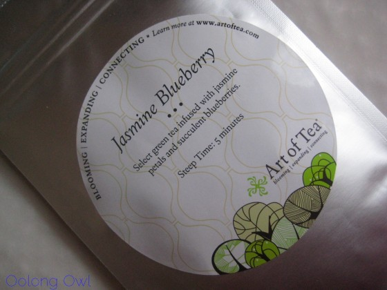 Jasmine Blueberry from Art of Tea - Oolong Owl Tea Review (1)