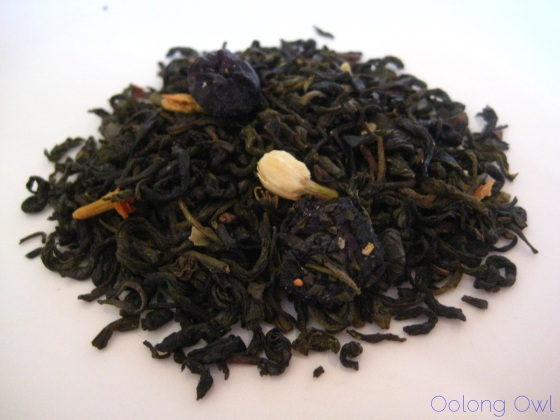 Jasmine Blueberry from Art of Tea - Oolong Owl Tea Review (2)