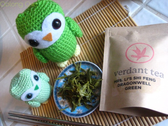 Mrs Li She Feng Dragonwell from Verdant Tea - Oolong Owl tea review (10)
