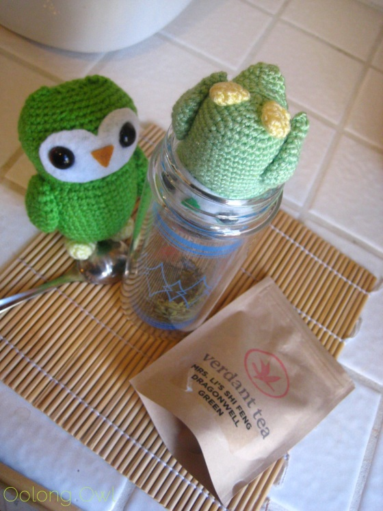 Mrs Li She Feng Dragonwell from Verdant Tea - Oolong Owl tea review (13)